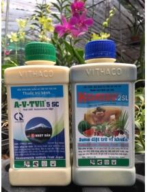 Cặp trừ bệnh Kamsu & A-V-TVil 5SC diệt trừ vi khuẩn ( Nhật Bản )