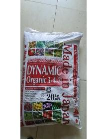 DYNAMIC ORGANIC 3-4-3 Phân hữu cơ từ Nhật Bản khỏe cây tốt trái bao