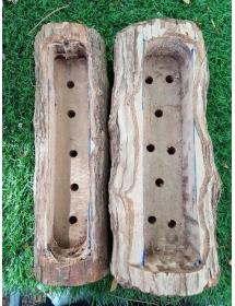 Chậu gỗ Vú Sữa nguyên khối